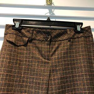 LOFT Plaid Pants Size 0 Petite